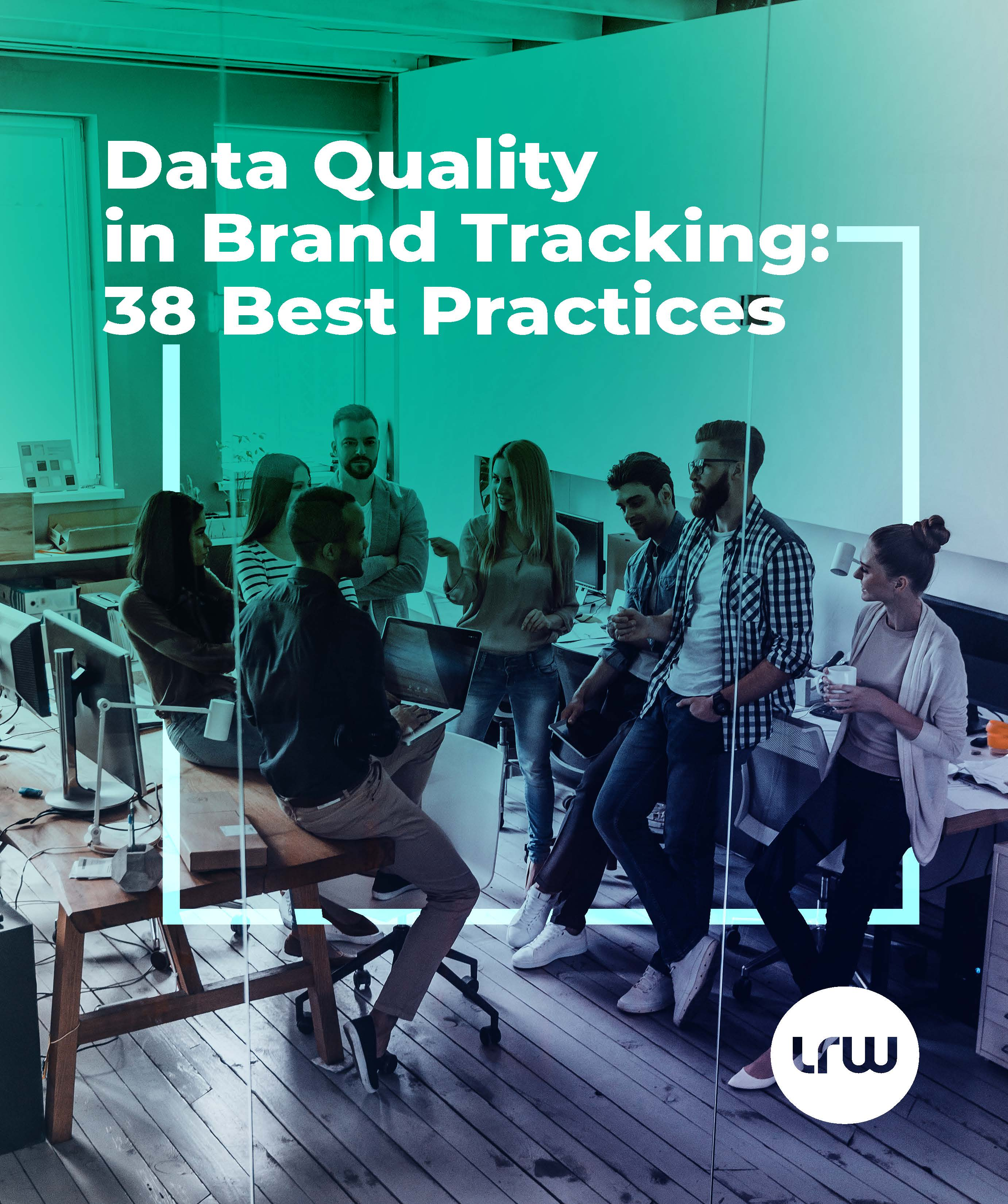 Data Quality in Brand Tracking 38 Best Practices_Cover